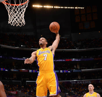 Xavier Henry lifts off.