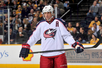 Former Columbus Blue Jackets forward Vaclav Prospal.