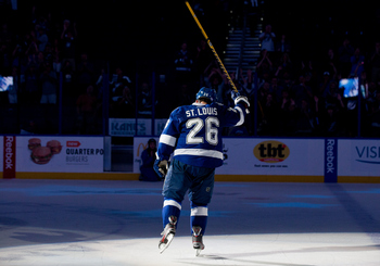 There is no other way to describe him. Martin St. Louis is the Lightning franchise summed up into one player.