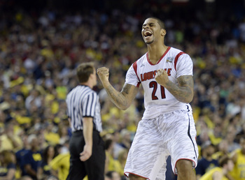Louisville's Chane Behanan is currently suspended indefinitely.