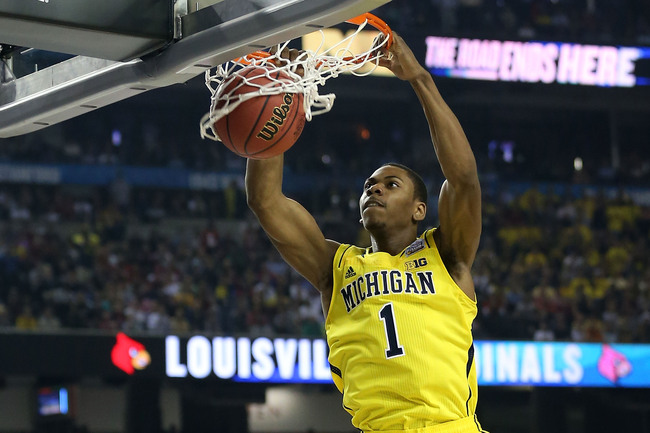 ATLANTA, GA - APRIL 08:  Glenn Robinson III