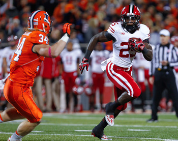 Wisconsin running back Melvin Gordon against Illinois on Oct. 19.
