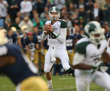 Michigan State quarterback Connor Cook.