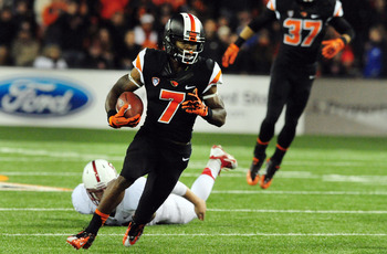Oregon State junior wide receiver Brandin Cooks against Stanford on Oct. 26.