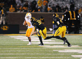 Tennessee RB Rajion Neal had just eight yards rushing.