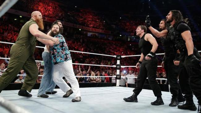 The Shield Vs. The Wyatt Family (Best Rivalry)