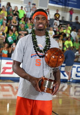 Maui Invitational MVP C.J. Fair