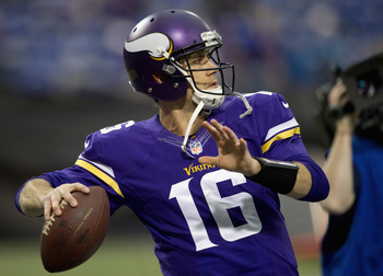 Matt Cassel threw for 1,807 yards, 11 touchdowns and nine interceptions last season.