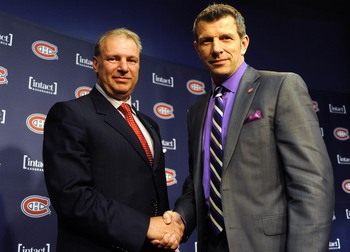 Michel Therrien (left) and Marc Bergevin