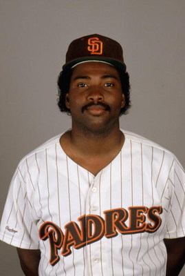 1988:  Tony Gwynn of the San Diego Padres poses for a portrait during the 1988 season. (Photo by Rick Stewart/Getty Images)