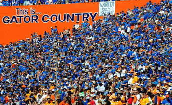 GAINESVILLE, FL - SEPTEMBER 19:  A general view of the crowd during the game between the Tennessee Volunteers and the Florida Gators at Ben Hill Griffin Stadium on September 19, 2009 in Gainesville, Florida.  (Photo by Sam Greenwood/Getty Images)