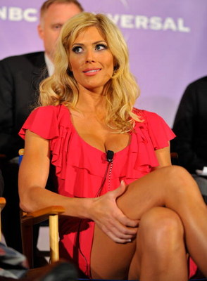 PASADENA, CA - APRIL 24:  Wrestler Torrie Wilson attends a press conference for 'I'm a Celebrity Get Me Out Of Here!' at the Langham Hotel on April 24, 2009 in Pasadena, California.  (Photo by Charley Gallay/Getty Images)