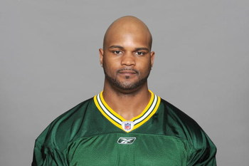 GREEN BAY, WI - 2009:  DeShawn Wynn of the Green Bay Packers poses for his 2009 NFL headshot at photo day in Green Bay, Wisconsin.  (Photo by NFL Photos)  