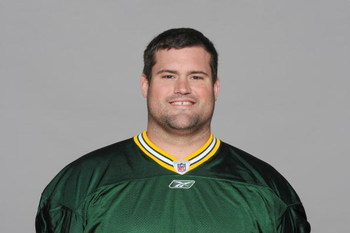 GREEN BAY, WI - 2009:  Chad Clifton of the Green Bay Packers poses for his 2009 NFL headshot at photo day in Green Bay, Wisconsin.  (Photo by NFL Photos)  