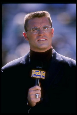 21 Sep 1997: Fox Sports broadcaster Howie Long during the Minnesota Vikings 38-32 loss to the Green Bay Packers at Lambeau Field in Green Bay, Wisconsin.