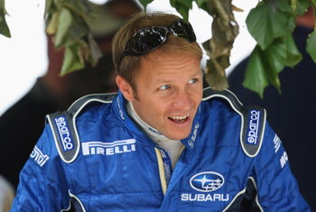 CHICHESTER, UNITED KINGDOM - JULY 12:  Subaru Rally driver Petter Solberg of Norway attends the Goodwood Festival of Speed on July 12, 2008 in Chichester, England.  (Photo by Mark Thompson/Getty Images)