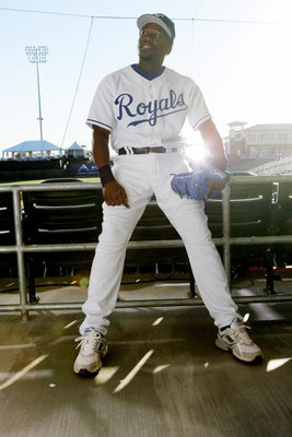 SURPRISE, AZ - FEBRUARY 25:  Angel Berroa of the Kansas City Royals poses for a portrait during Photo Day on February 25, 2007 at Surprise Stadium in Surprise, Arizona. (Photo by Jonathan Ferrey/Getty Images)