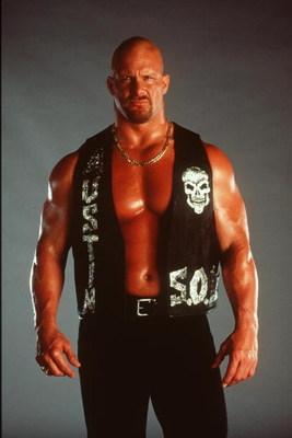 370782 05: World Wrestling Federation Wrestler Steve Austin Poses June 12, 2000 In Los Angeles, Ca.  (Photo By Getty Images)