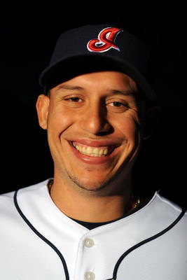 GOODYEAR, AZ - FEBRUARY 21:  Asdrubal Cabrera of the Cleveland Indians poses during photo day at the Indians spring training complex on February 21, 2009 in Goodyear, Arizona.  (Photo by Ronald Martinez/Getty Images)