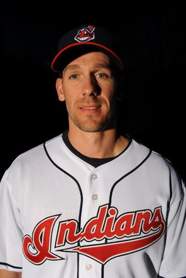 GOODYEAR, AZ - FEBRUARY 21:  Cliff Lee of the Cleveland Indians poses during photo day at the Indians spring training complex on February 21, 2009 in Goodyear, Arizona.  (Photo by Ronald Martinez/Getty Images)