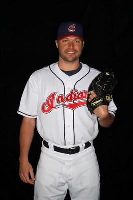 GOODYEAR, AZ - FEBRUARY 21:  Jake Westbrook of the Cleveland Indians poses during photo day at the Indians spring training complex on February 21, 2009 in Goodyear, Arizona.  (Photo by Ronald Martinez/Getty Images)