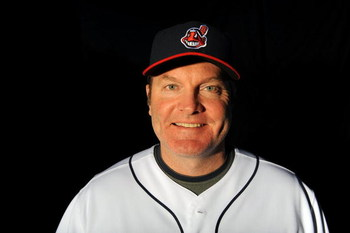 GOODYEAR, AZ - FEBRUARY 21:  Manager Eric Wedge of the Cleveland Indians poses during photo day at the Indians spring training complex on February 21, 2009 in Goodyear, Arizona.  (Photo by Ronald Martinez/Getty Images)
