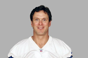 DALLAS - 2006:  Drew Bledsoe #11 of the Dallas Cowboys poses for his 2006 NFL headshot at photo day in Dallas, Texas. (Photo by Getty Images)