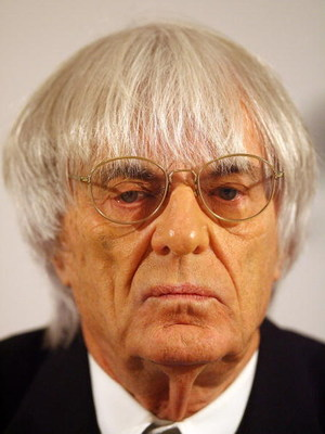 LONDON - NOVEMBER 26:  Bernie Ecclestone Chief Executive Officer of the Formula One Group attends an press conference on November 26, 2008 in London. LG Electronics has announced it is to become a Global Partner of Formula 1.  (Photo by Peter Macdiarmid/G