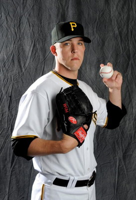 BRADENTON, FLORIDA - FEBRUARY 22: Paul Maholm #28 of the Pittsburgh Pirates poses during photo day at the Pirates spring training complex on February 22, 2008 in Bradenton, Florida. (Photo by Rob Tringali/Getty Images)