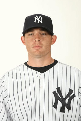 TAMPA, FL - FEBRUARY 19:  Ian Kennedy #31 of the New York Yankees poses during Photo Day on February 19, 2009 at Legends Field in Tampa, Florida. (Photo by Nick Laham/Getty Images)