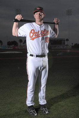 FORT LAUDERDALE, FL - FEBRUARY 23: Matt Wieters #15 of the Baltimore Orioles poses during photo day at the Orioles spring training complex on February 23, 2009 in Ft. lauderdale, Florida. (Photo by Marc Serota/Getty Images)
