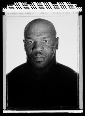 PHOENIX, AZ - MAY 27:  Boxer Mike Tyson, two time former Heavyweight champion of the world  poses at the Central Boxing Club  on May 27, 2005  in Phoenix, Arizona.  He fought from 1985 thru 2005 and is 38 years old at the time of this photo.  (Photo by Al