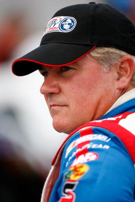 DAYTONA BEACH, FL - JULY 04:  Terry Labonte, driver of the #45 Richard Petty Driving Experience Dodge prepares to drive during qualifying for the NASCAR Sprint Cup Series Coke Zero 400 at Daytona International Speedway on July 4, 2008 in Daytona Beach, Fl