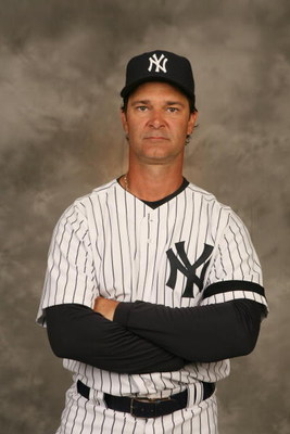TAMPA, FL - FEBRUARY 23: Don Mattingly #23 of the Yankees poses for a portrait during the New York Yankees Photo Day at Legends Field on February 23, 2007 in Tampa, Florida. (Photo by Nick Laham/Getty Images)