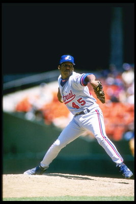 22  May 1996:  Pitcher Pedro Martinez of the Montreal Expos throws a pitch during a game against the San Francisco Giants at 3Comm Park in San Francisco, California.  The Expos won the game 4-3. Mandatory Credit: Otto Greule Jr.  /Allsport