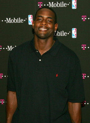 NEW YORK - JUNE 28:  NBA basketball player Chris Webber attends the T-Mobile Basketball's Rising Stars Celebration at Tao Restaurant on June 28, 2006 in New York City.  (Photo by Matthew Peyton/Getty Images for T-Mobile)