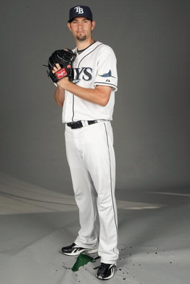 PORT CHARLOTTE, FLORIDA - FEBRUARY 20:  Jason Hammel #49 of the Tampa Bay Rays poses during Photo Day on February 20, 2009 at the Charlotte County Sports Park in Port Charlotte, Florida. (Photo by: Nick Laham/Getty Images)