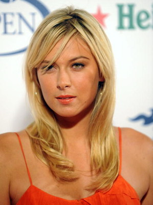 NEW YORK - AUGUST 22: Tennis player Maria Sharapova attends the Player Party presented by Heineken at the Empire Hotel on August 22, 2008 in New York City. (Brad Barket/Getty Images for Heineken)