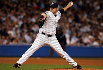 NEW YORK - SEPTEMBER 17:  Phil Coke #48 of the New York Yankees pitches against the Chicago White Sox on September 17, 2008 at Yankee Stadium in the Bronx borough of New York City.  (Photo by Jim McIsaac/Getty Images)