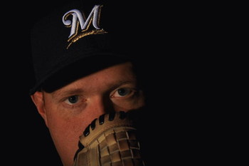 MARYVALE, AZ - FEBRUARY 19:  Todd Coffey of the Milwaukee Brewers poses during photo day at the Brewers spring training complex on February 19, 2008 in Maryvale, Arizona.  (Photo by Ronald Martinez/Getty Images)