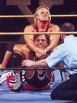 Owen Hart And Bret Hart Bret hart vs. owen hart