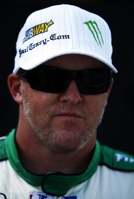 EDMONTON - JULY 24:  Paul Tracy, driver of the #22 Subway Vision Racing Dallara Honda, during practice for the IRL IndyCar Series Rexall Edmonton Indy on July 24, 2008 at the Edmonton City Centre Airport in Edmonton, Alberta, Canada.  (Photo by  Gavin Law