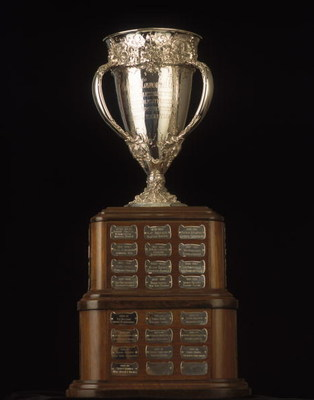 TORONTO - JANUARY 1:  The  Calder Memorial Trophy is presented  yearly to the NHL Rookie of the Year by the National Hockey League, as pictured on January 01, 2001.  (Photo by Silva Pecota /Getty Images/NHLI)