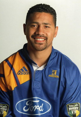 NEW ZEALAND - JANUARY 17:  Jeremy Stanley 2000 Otago Highlanders Rugby Super 12 Team.  (Photo by Barry Durrant/Getty Images)