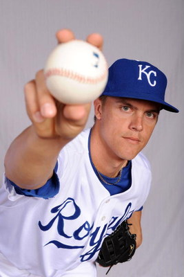 SURPRISE, AZ - FEBRUARY 22:  Zack Greinke #23 of the Kansas City Royals poses during photo day at Surprise Stadium on February 22, 2009 in Surprise, Arizona.  (Photo by Harry How/Getty Images)