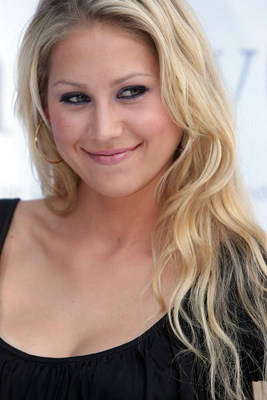 STUTTGART, GERMANY - JULY 07:  Anna Kournikova attends the Laureus Charity Gala at the Mercedes Benz branch on July 7, 2008 in Stuttgart, Germany.  (Photo by Thomas Niedermueller/Getty Images)