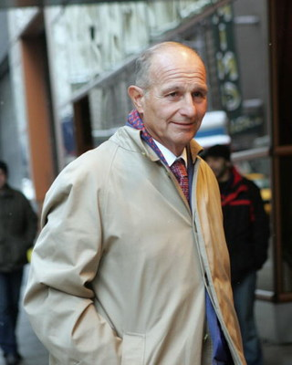NEW YORK - MARCH 1:  Jeremy Jacobs, owner of the Boston Bruins, arrives at the NHL Board of Governors meetings at the Westin Hotel in Times Square March 1, 2005 in New York City.  (Photo by Bruce Bennett/Getty Images)
