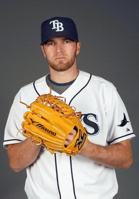 PORT CHARLOTTE, FLORIDA - FEBRUARY 20:  Wade Davis #58 of the Tampa Bay Rays poses during Photo Day on February 20, 2009 at the Charlotte County Sports Park in Port Charlotte, Florida. (Photo by: Nick Laham/Getty Images)