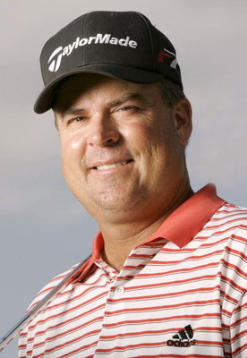 UNITED STATES - AUGUST 16:  Kenny Perry poses for a portrait during practice for the NEC Invitational at Firestone Country Club in Akron, Ohio on August 16, 2005. WGC - NEC Invitational - Practice - August 16, 2005 Firestone Golf Club Akron, Ohio United S