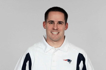 FOXBOROUGH, MA - 2008:  Josh McDaniels of the New England Patriots poses for his 2008 NFL headshot at photo day in Foxborough, Massachusetts.  (Photo by Getty Images)